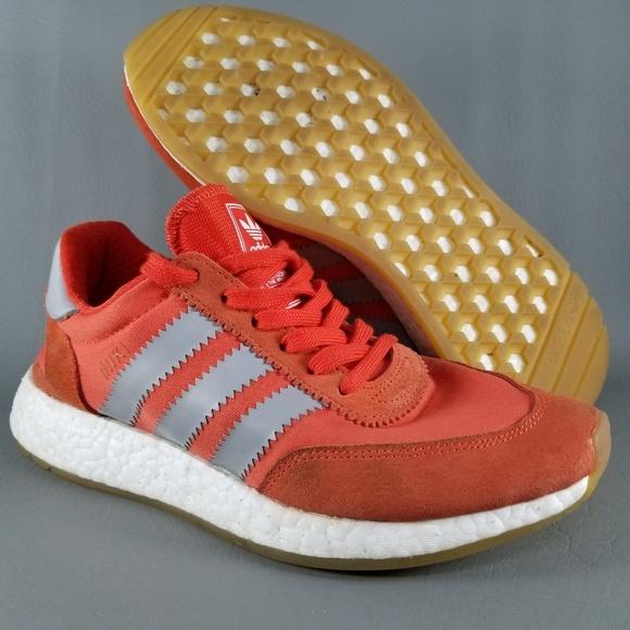 4c4c682ad911 adidas Shoes - adidas Iniki Boost Womens Running Shoes Orange 7.5